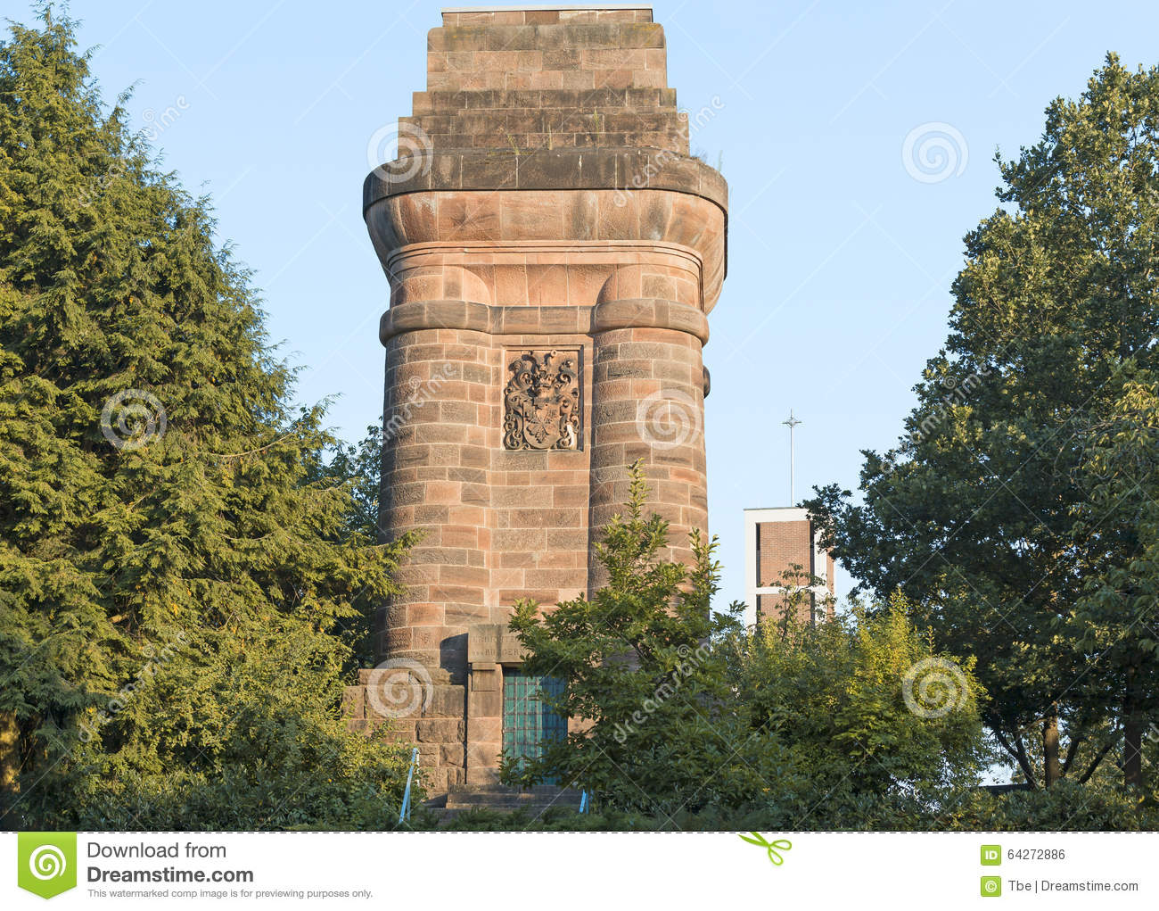 Marburg an der Lahn Germany  city pictures gallery : Bismarck Tower Bismarckturm in Marburg an der Lahn, Hesse, Germany ...