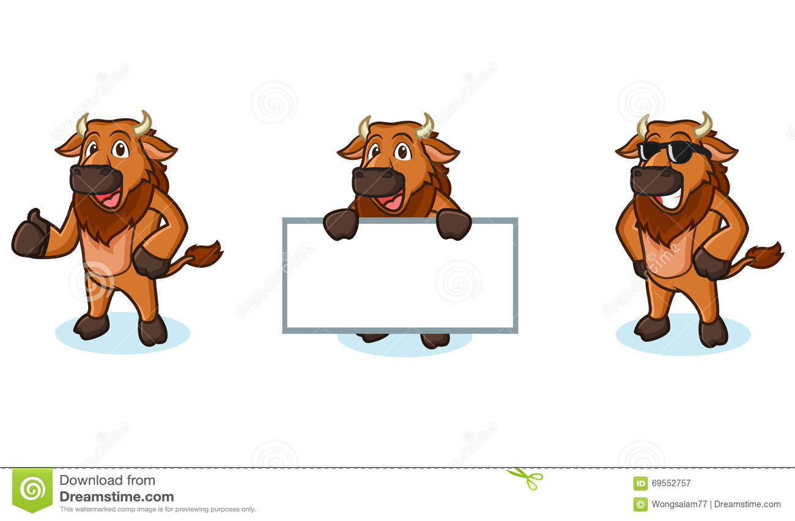Bison mascot clipart - photo#18