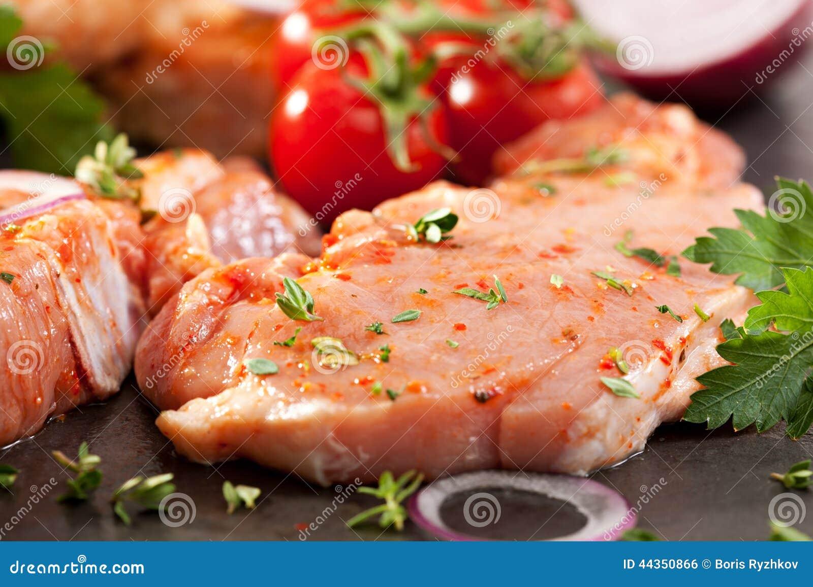 Bistecca della lonza di maiale