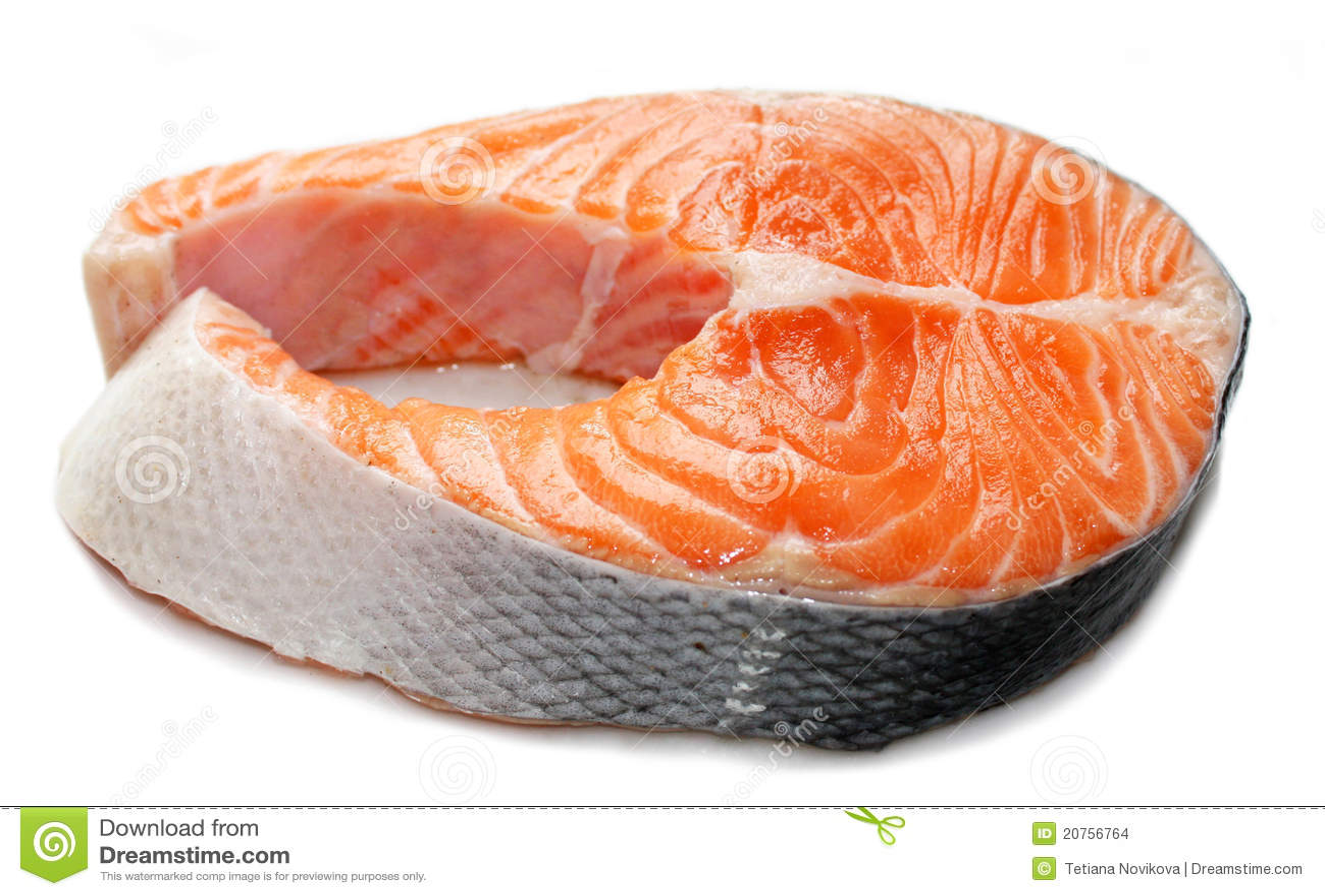 Bistecca di color salmone