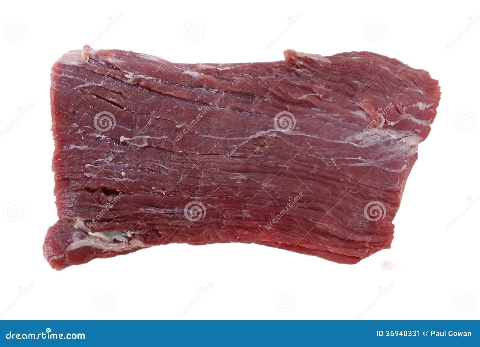 Bistecca di fianco cruda