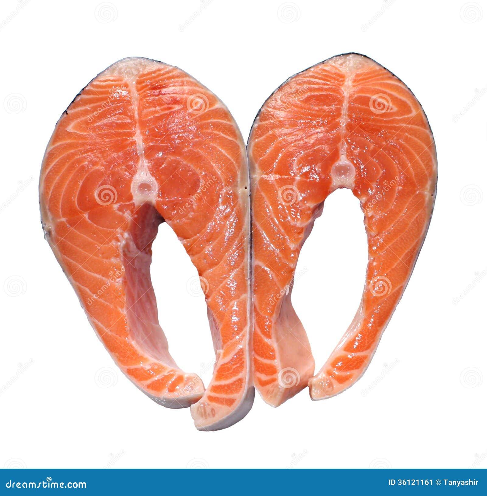 Bistecche di color salmone