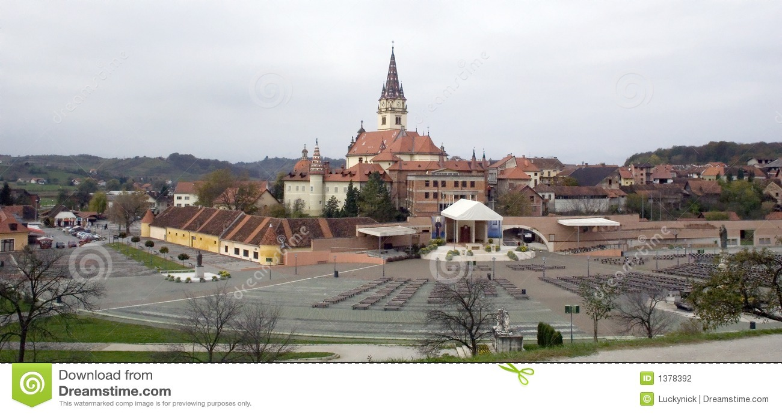 Bistrica教会克罗地亚marija
