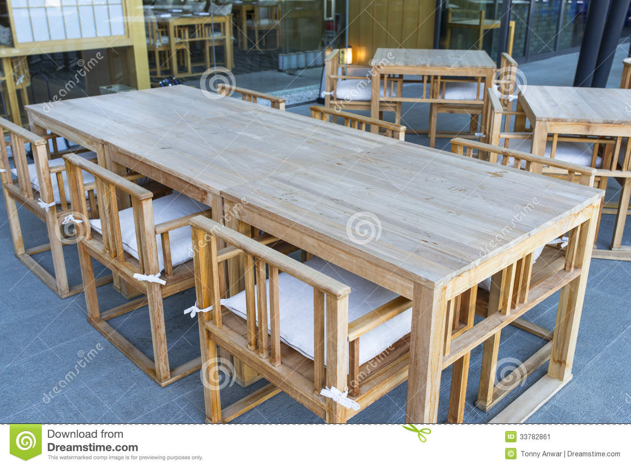 Bistro Furniture Stock Image Image Of Clean Bistro - Restaurant bistro table and chairs