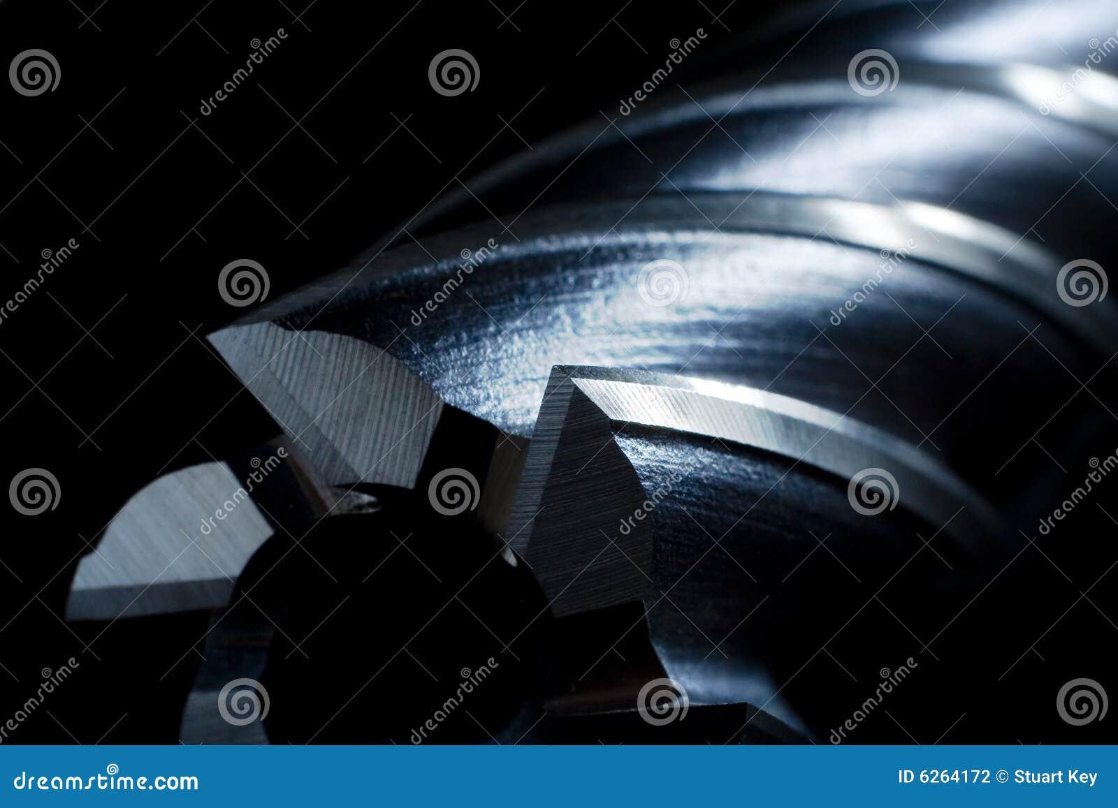 Bit de foret de moulin en métal