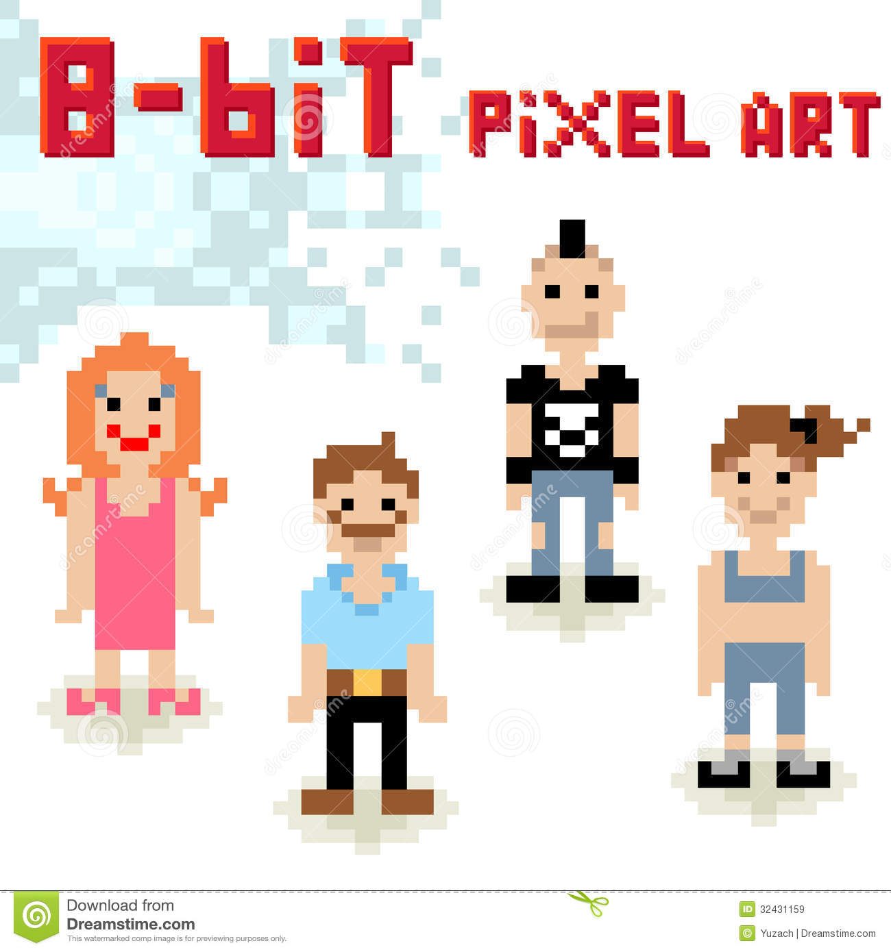 how to create 8 bit characters