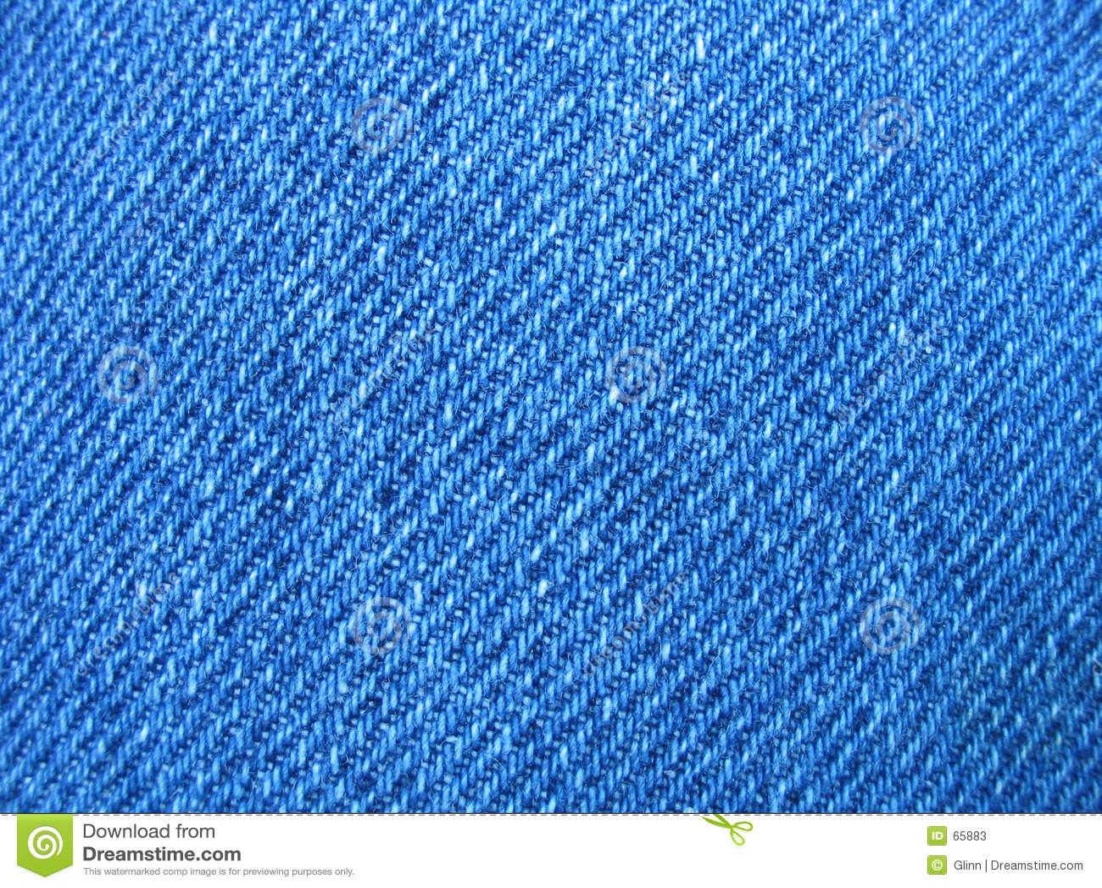 Bit van blauw Jean