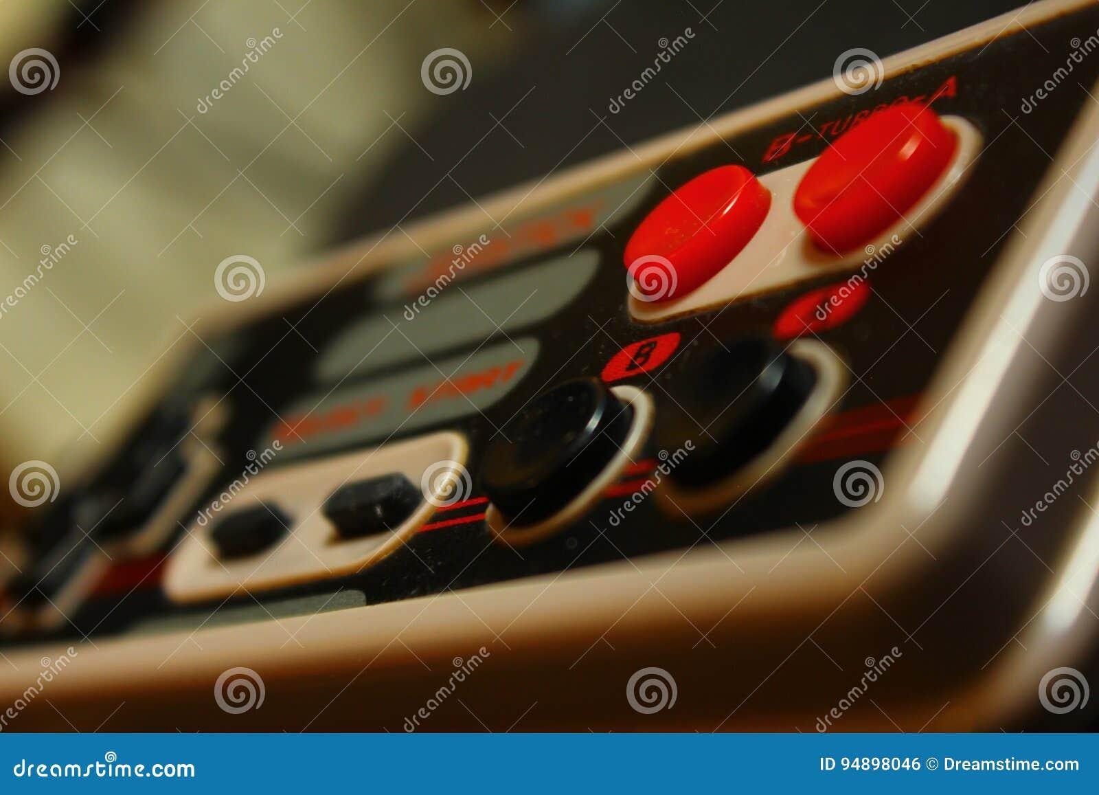 8 bit video game joystick 4 nintendo