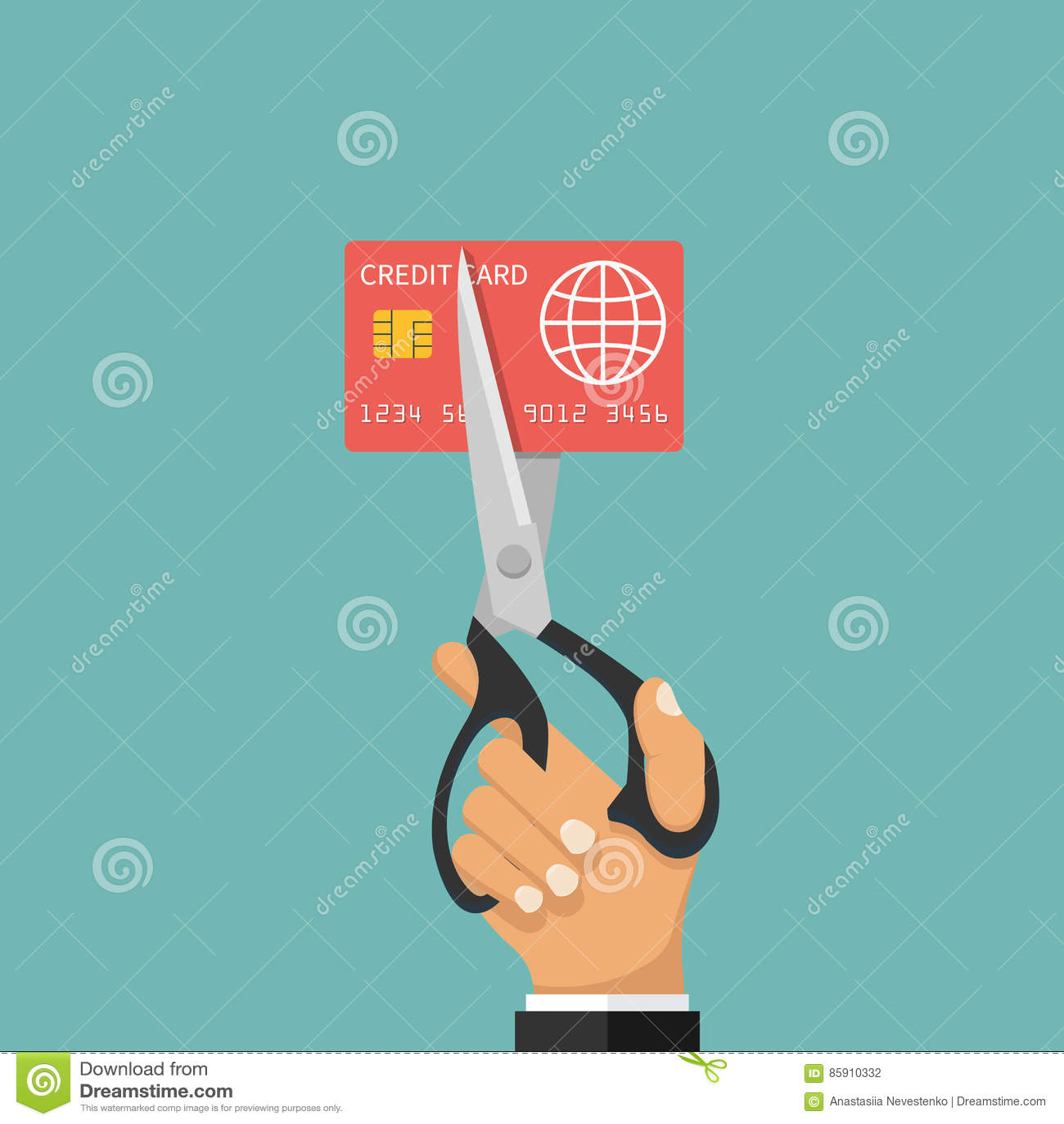 Bitande kreditkort