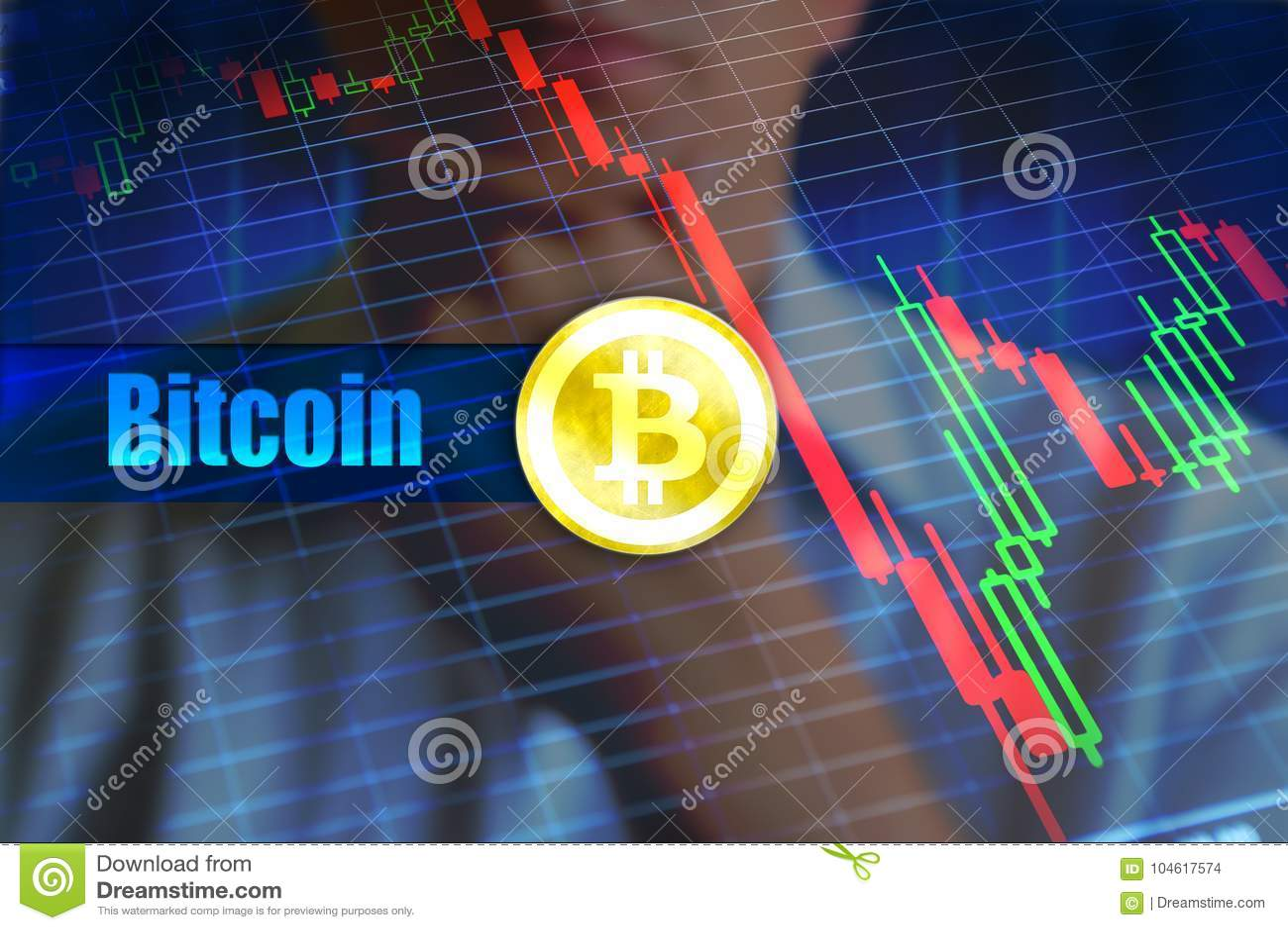 Bitcoin挥发性概念 迅速变动,落的bitcoin价格图表