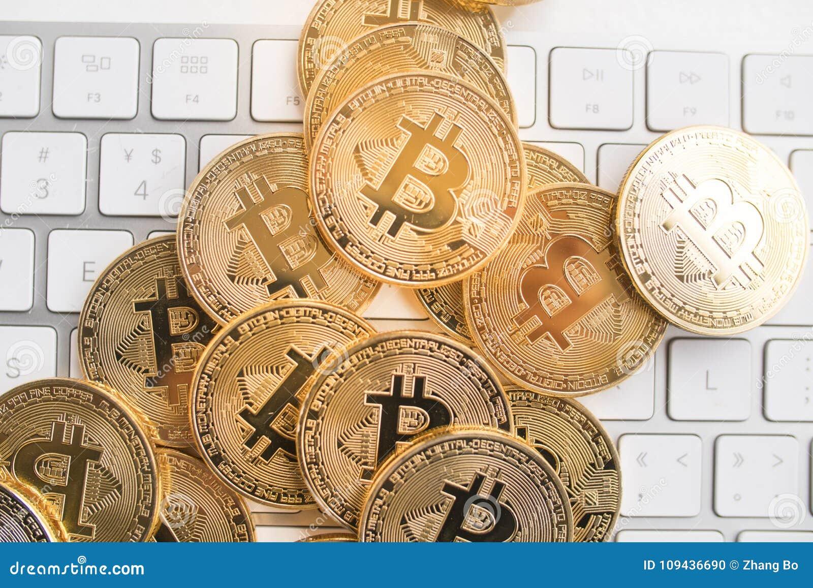 Bitcoin με λίγο αριθμό για το πληκτρολόγιο