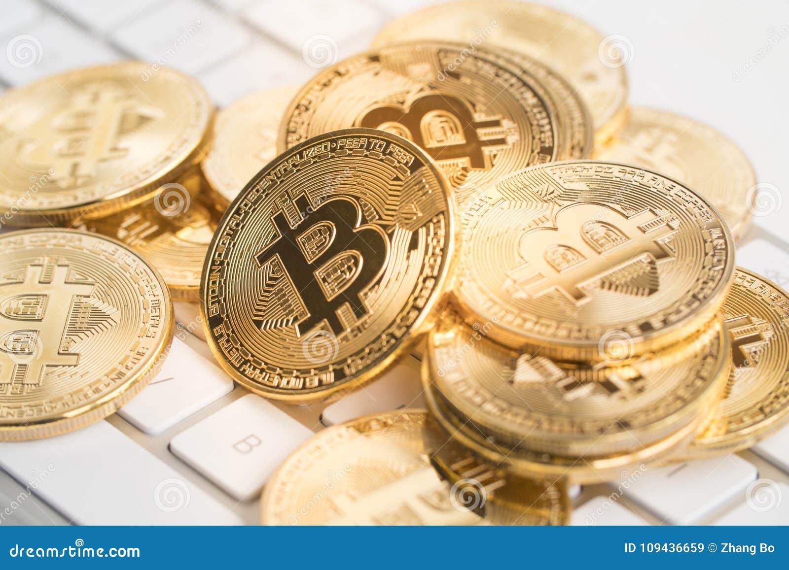 Bitcoin με το πληκτρολόγιο