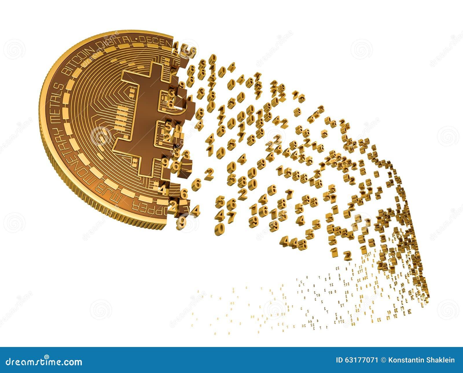Bitcoin που καταρρέει στα ψηφία