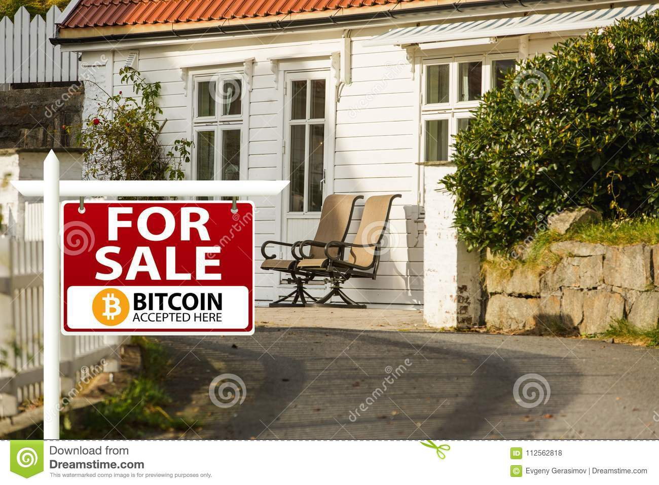 Bitcoin are accepted as payment