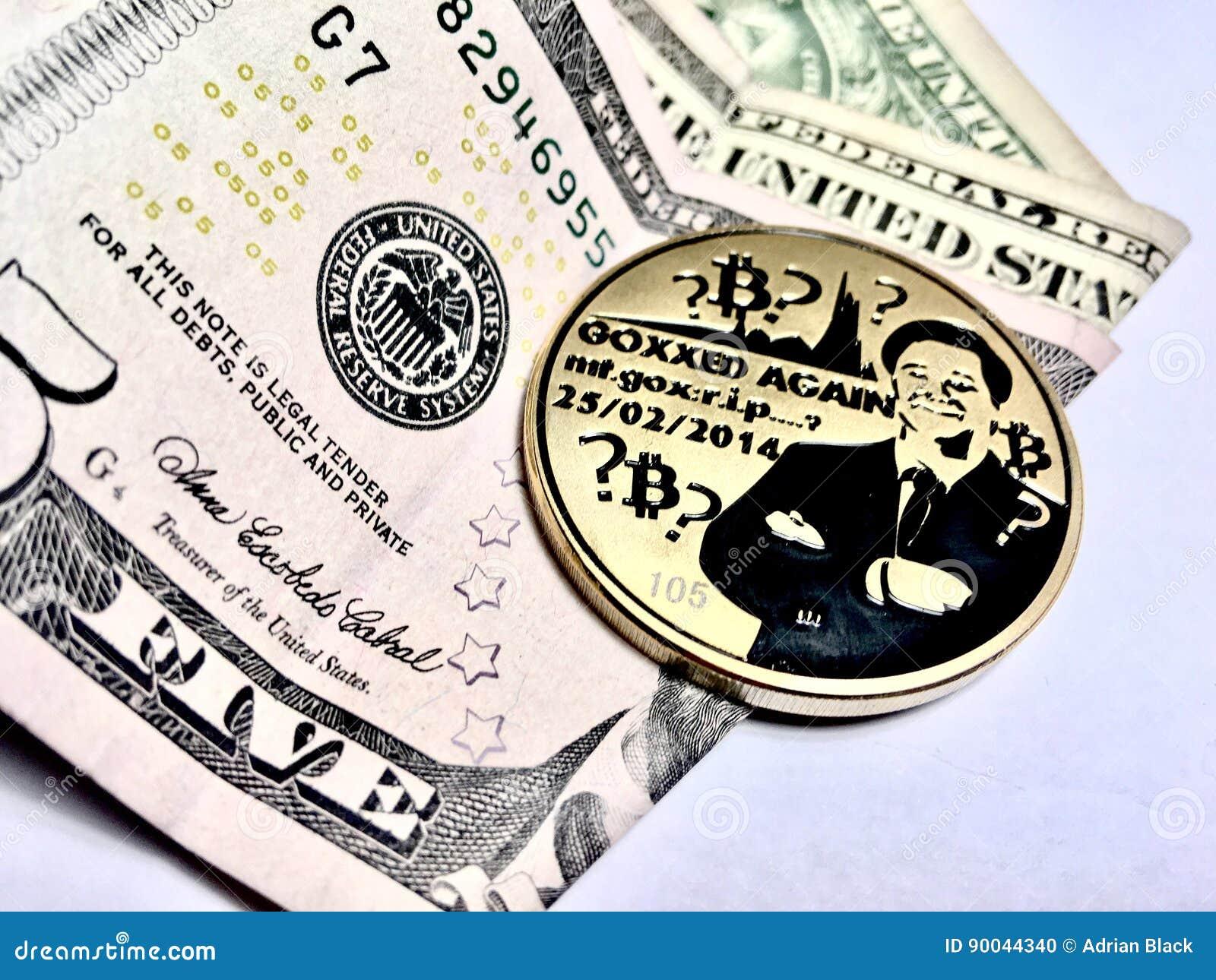 Bitcoin avec un dollar