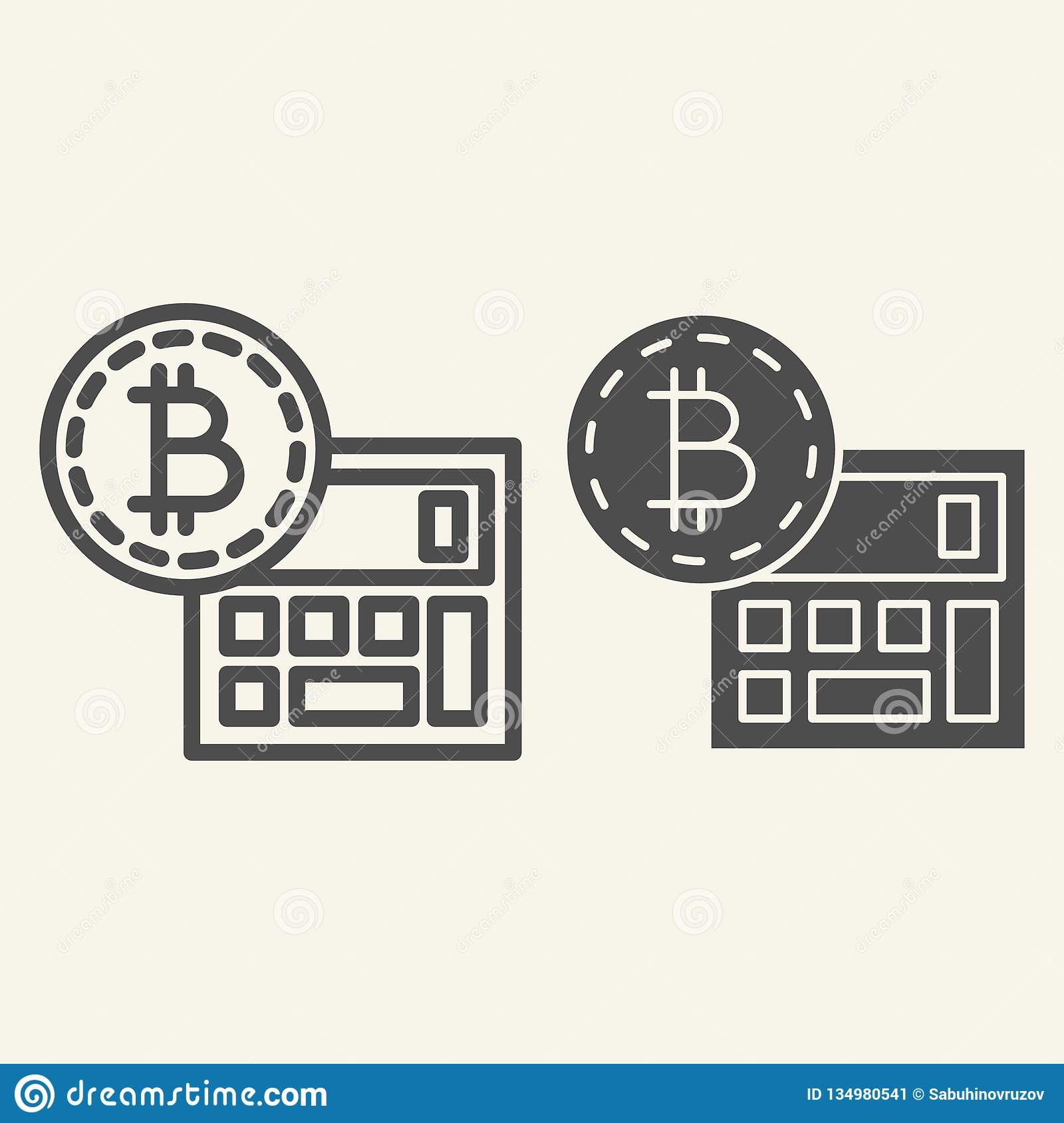 cryptocurrency coin glyphs