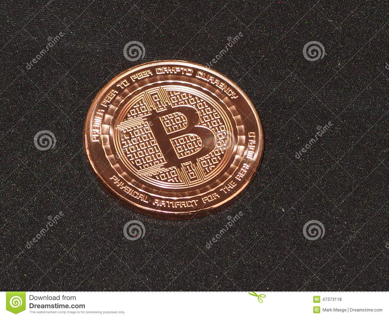 Technology E-Commerce Online Payments Cryptocurrency Bitcoin - Finance Illustration ...