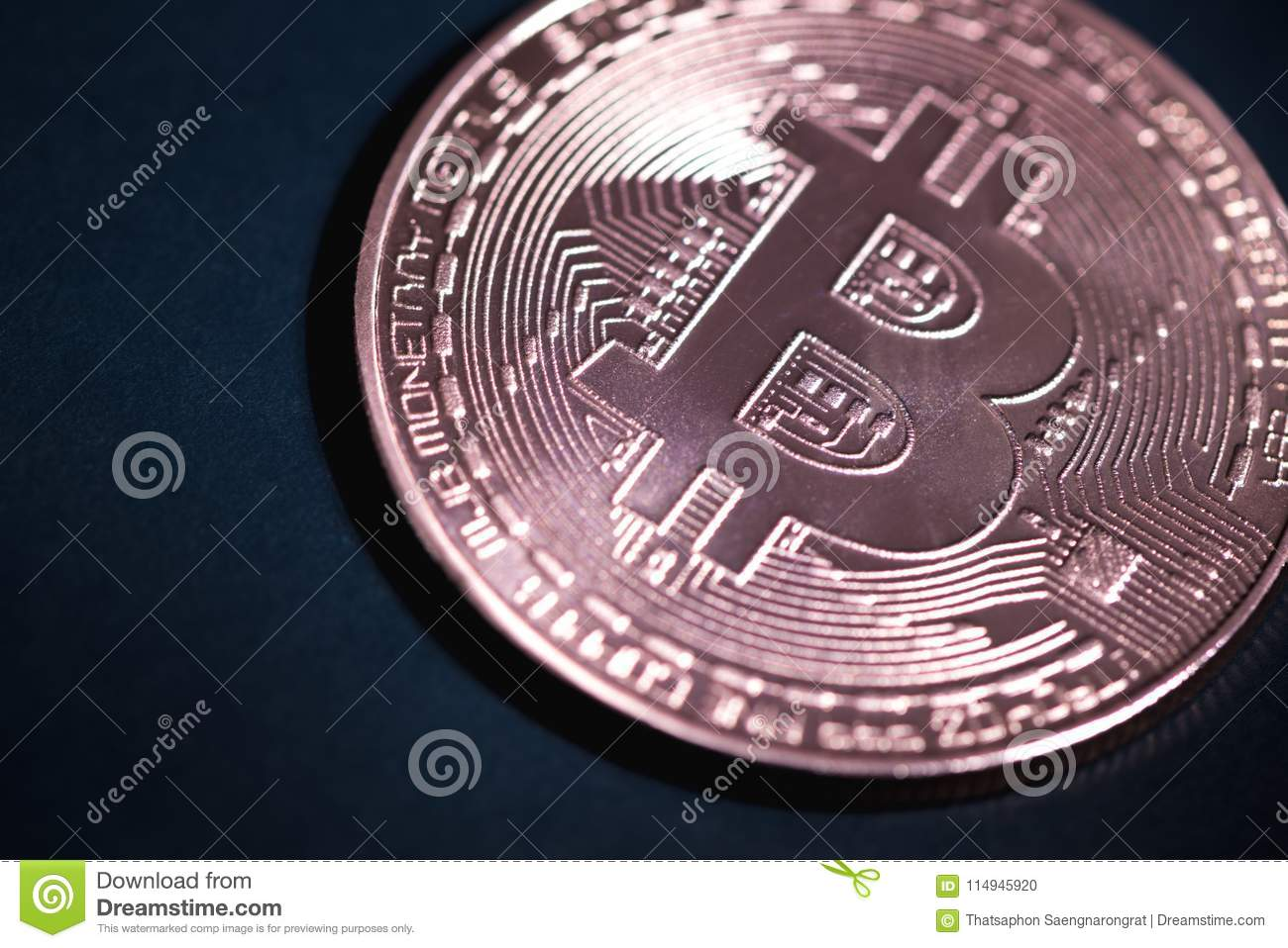 Bitcoin Digital Currency, Bit-coin On Motherboard Or ...