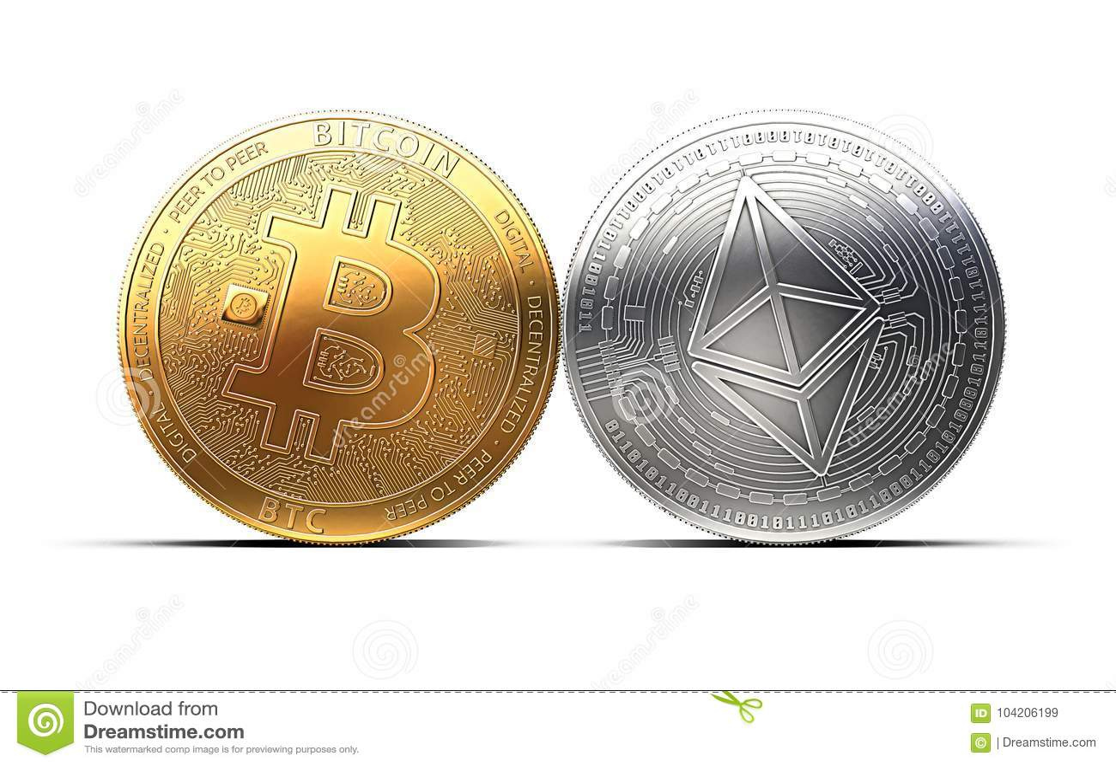 commerciale tra bitcoin e ethereum