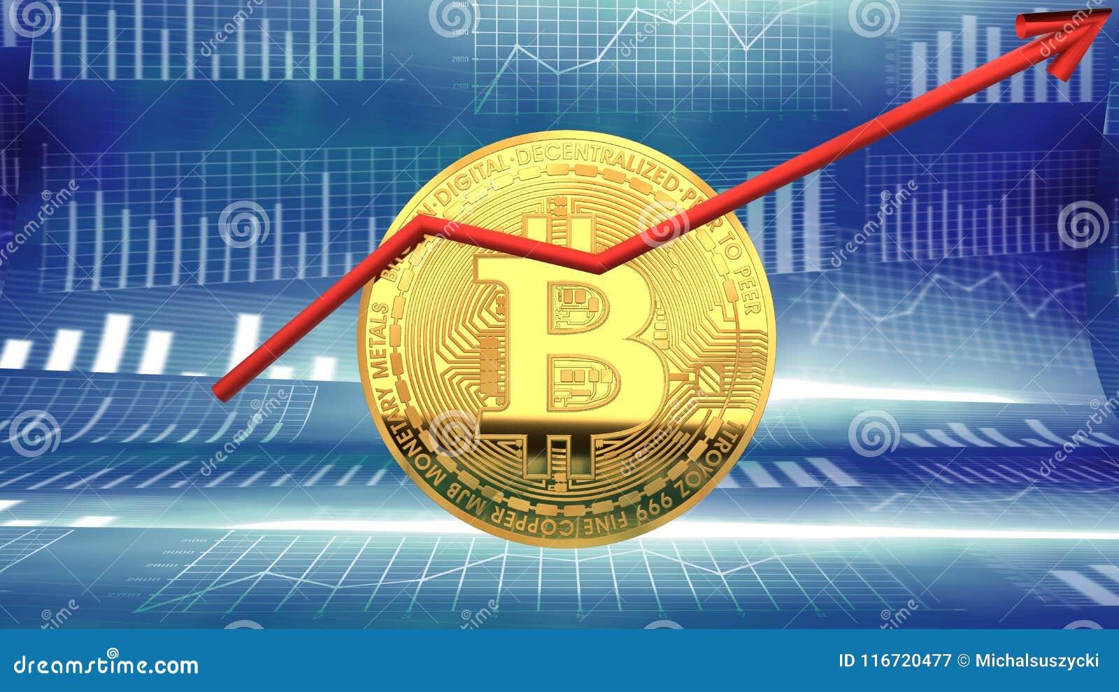 Bitcoin, fabricante reciente de las noticias, moneda cibernética que gana la atención del ` de los inversores