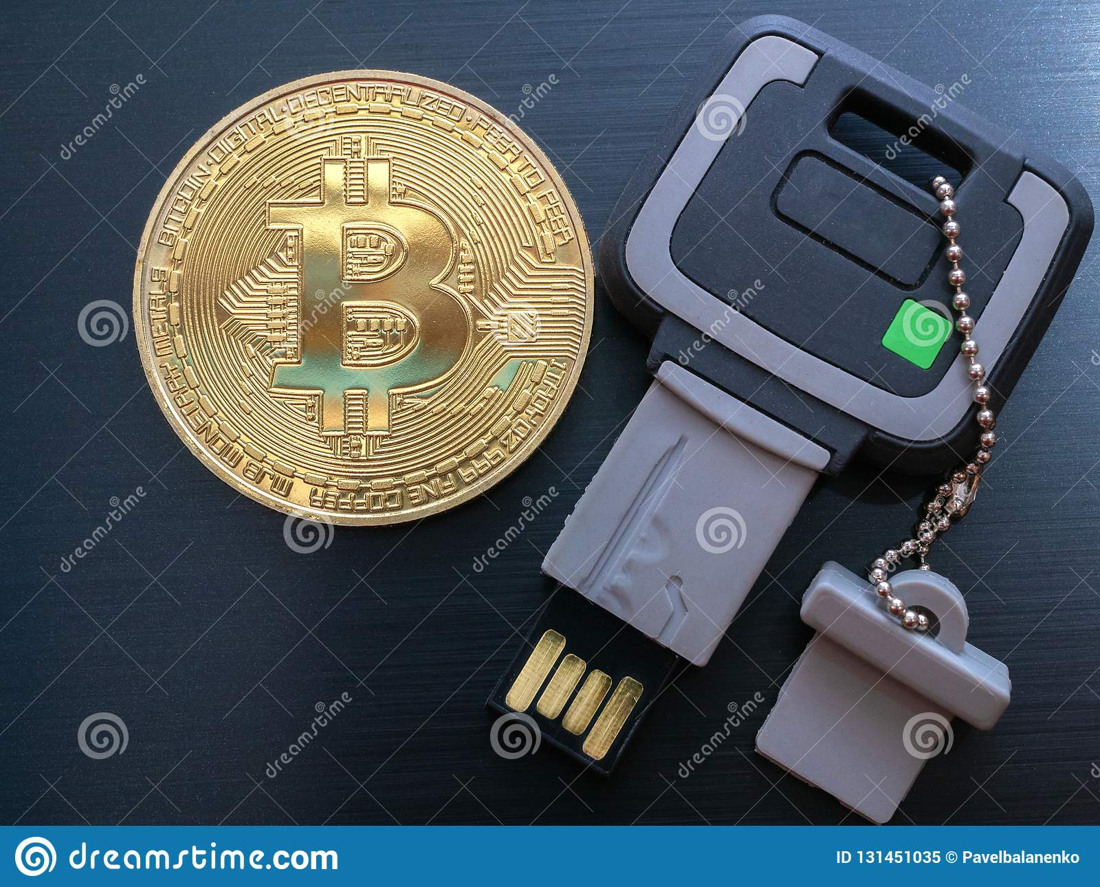 cryptocurrency wallet thumb drive