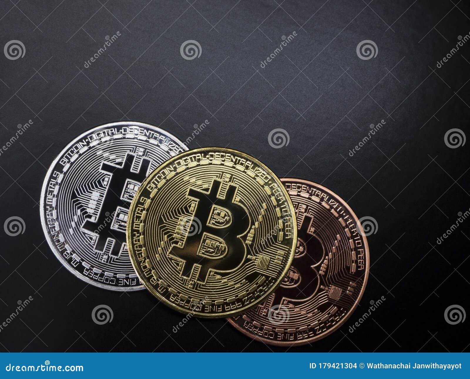 gold silver bitcoin