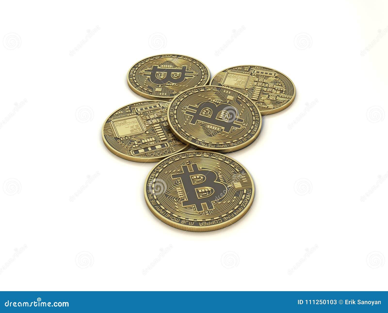 Bitcoin gouden muntstuk
