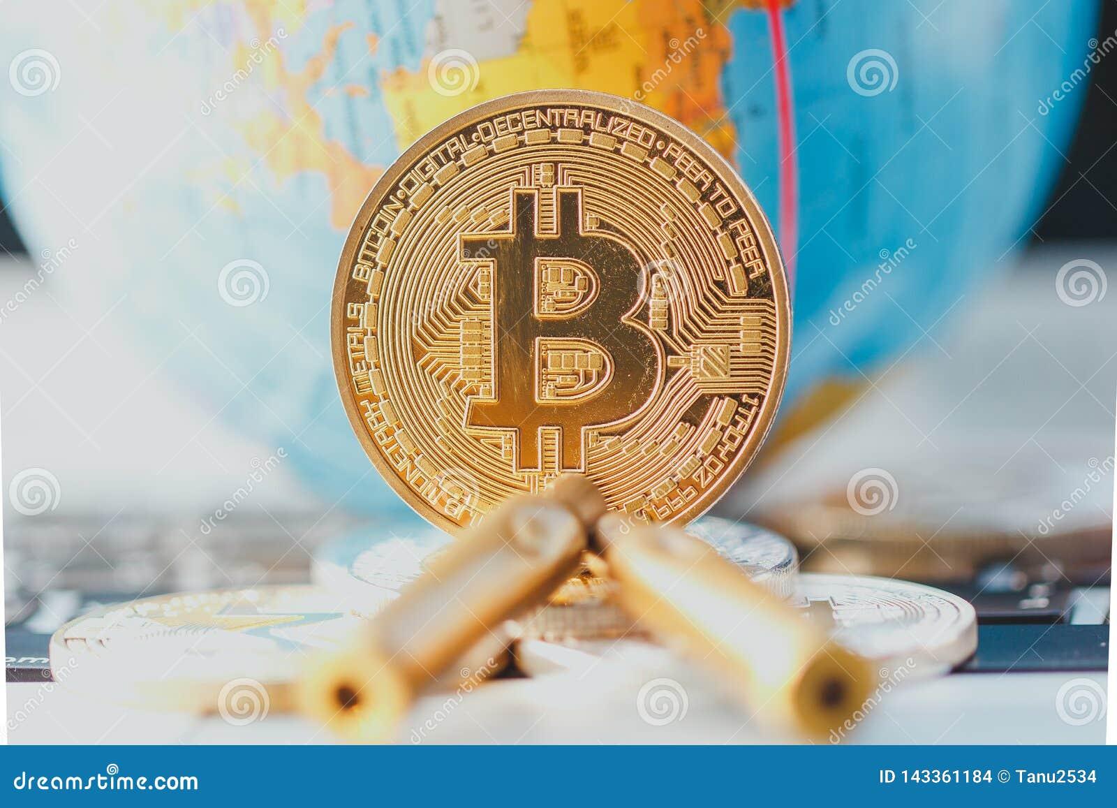 Bitcoin i pocisk Bezprawny handel w amunicjach