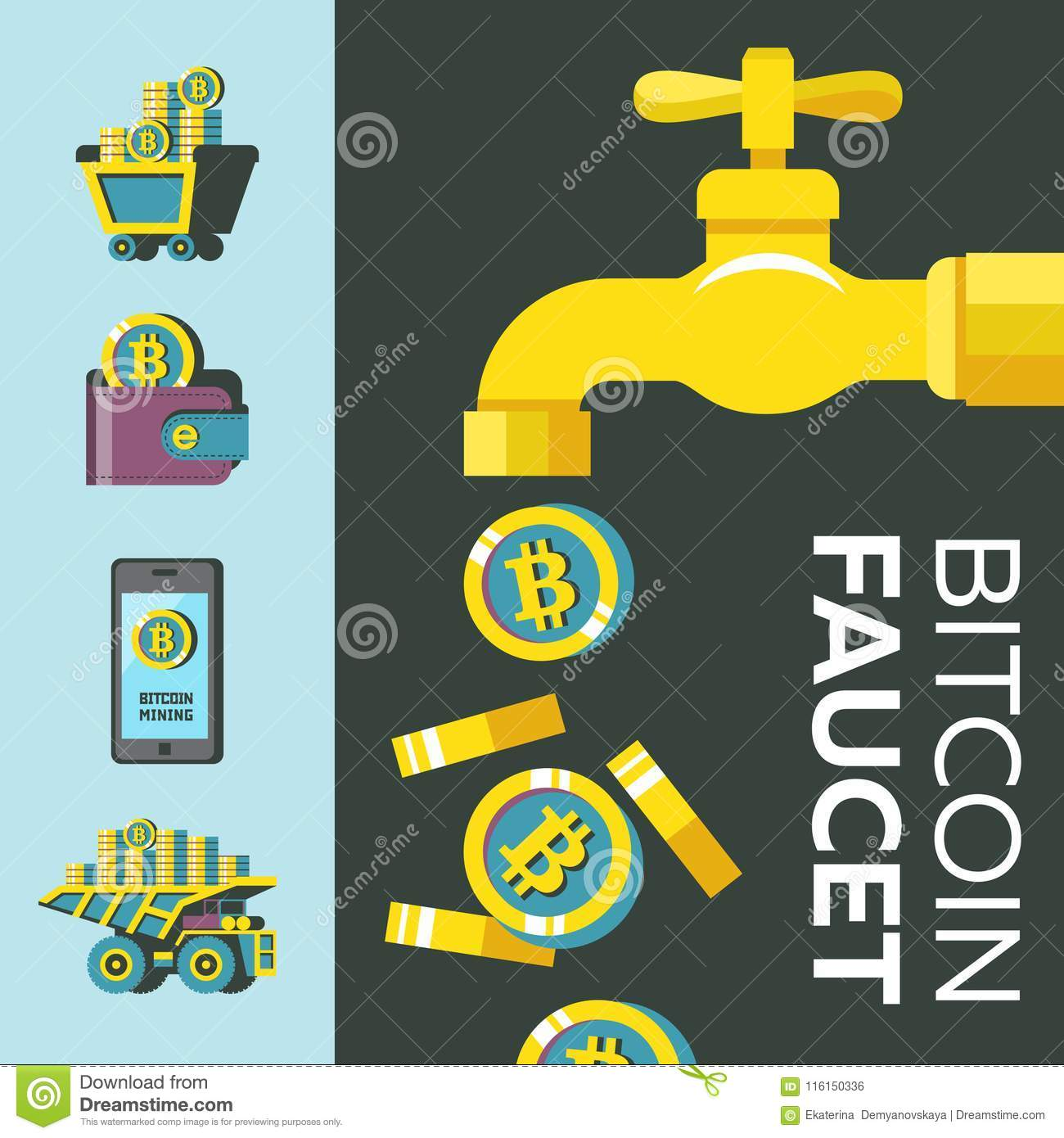 Faucet crypto currency coin