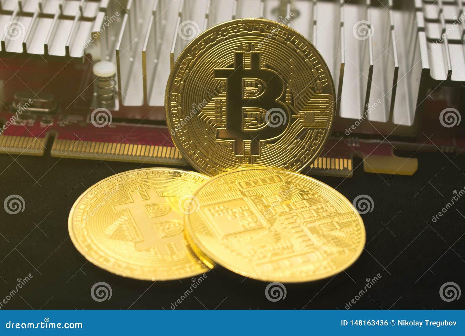 Bitcoin mynt p? videokortet Bryta cryptocurrency Bitcoin skiner