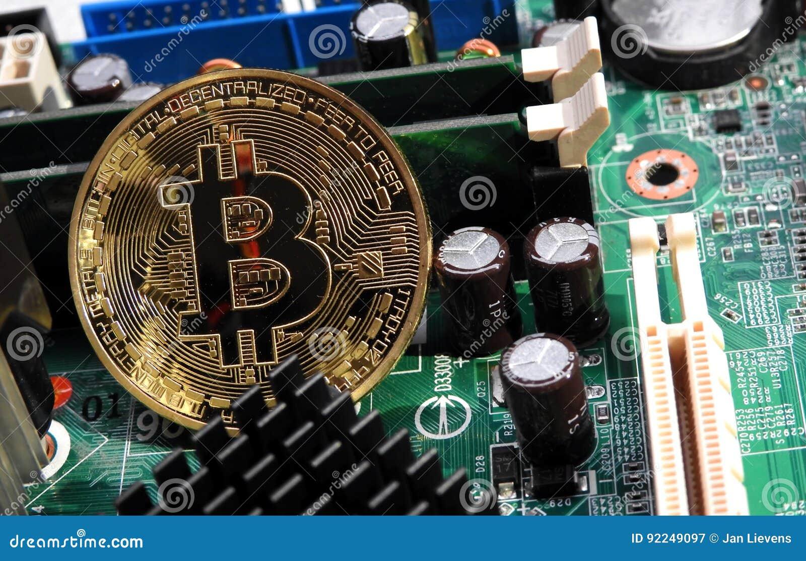 Bitcoin na płycie głównej