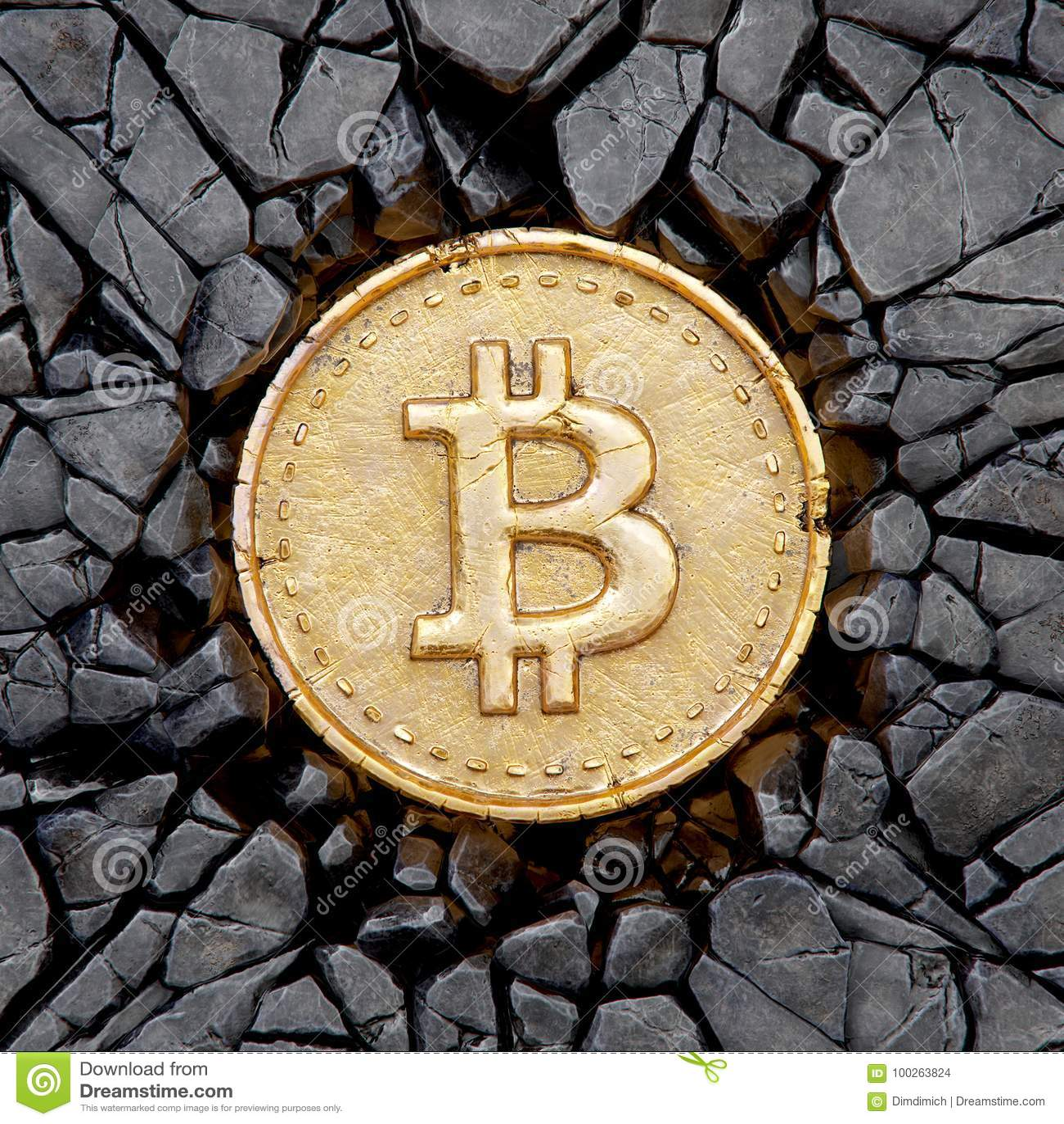 a rock bitcoin