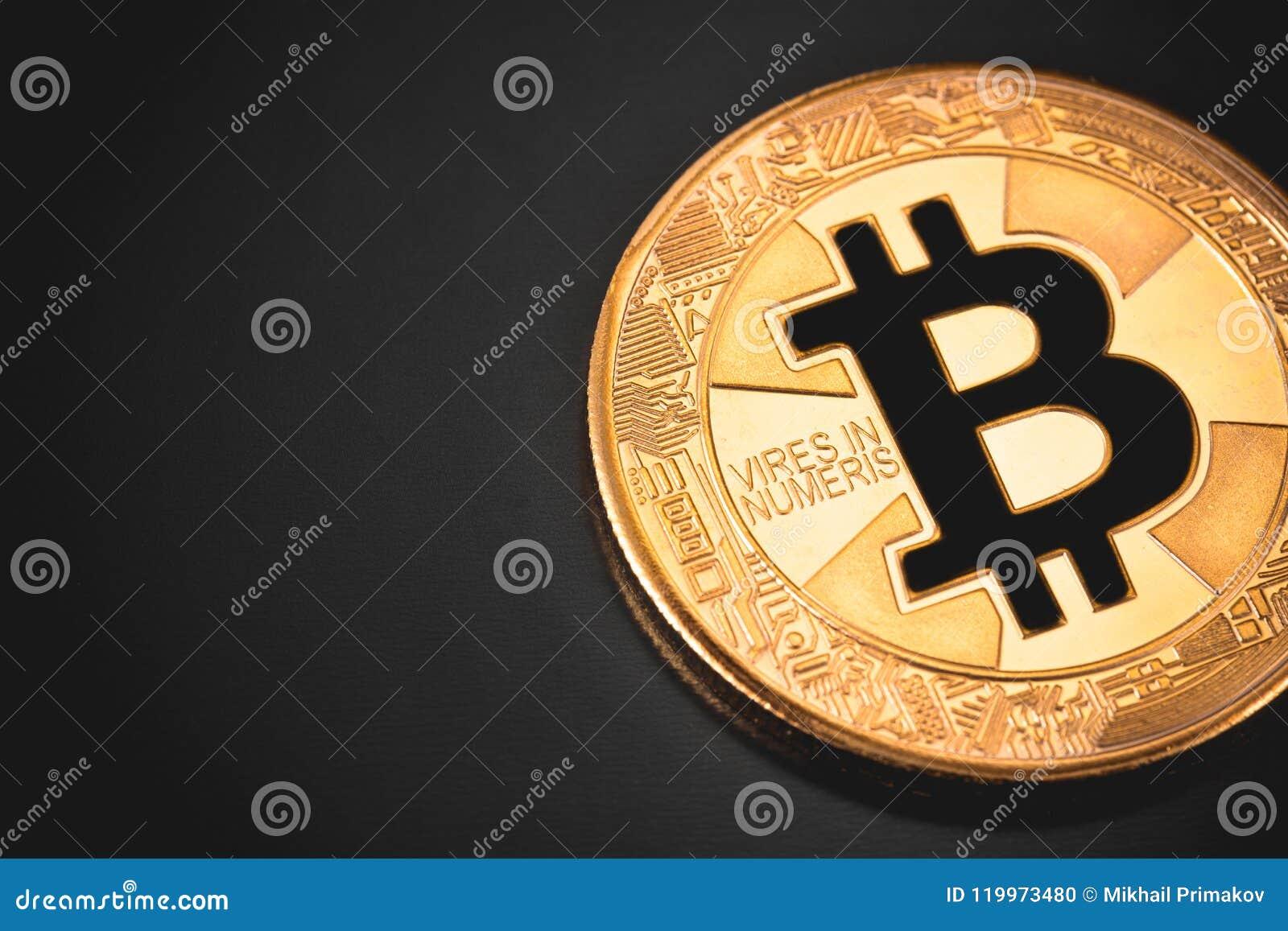 Bitcoin symbol and logo stock photo. Image of financial ...