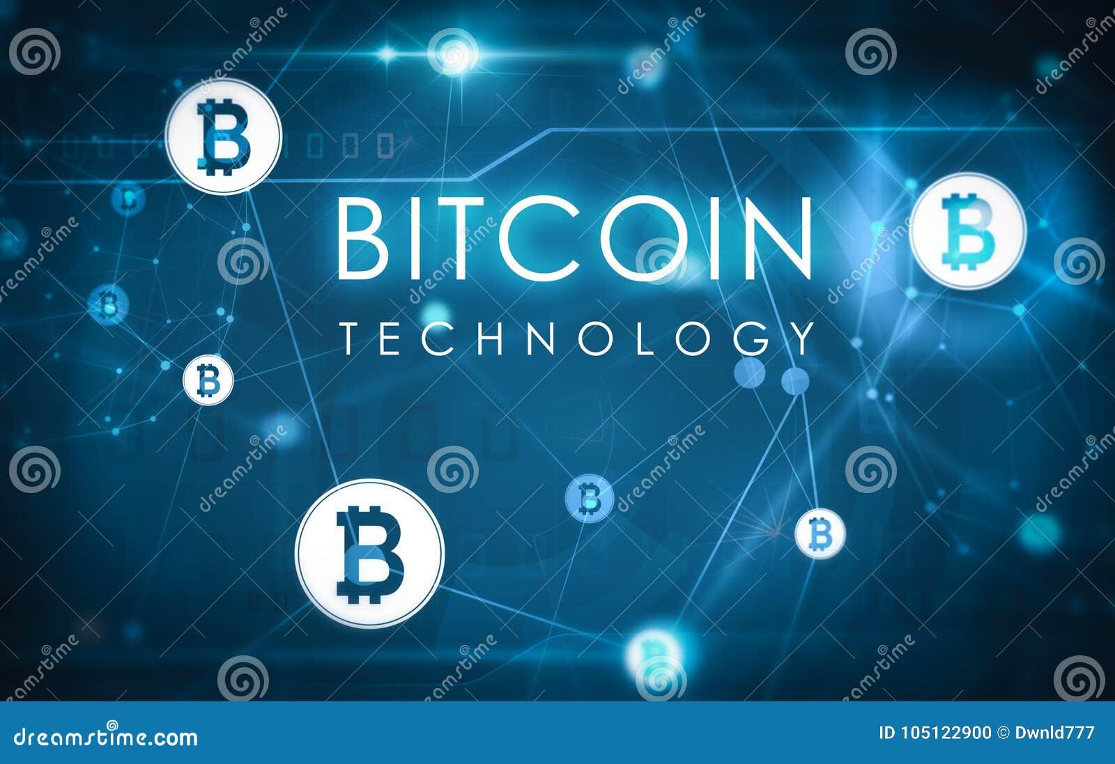 Bitcoin technologii ilustracja