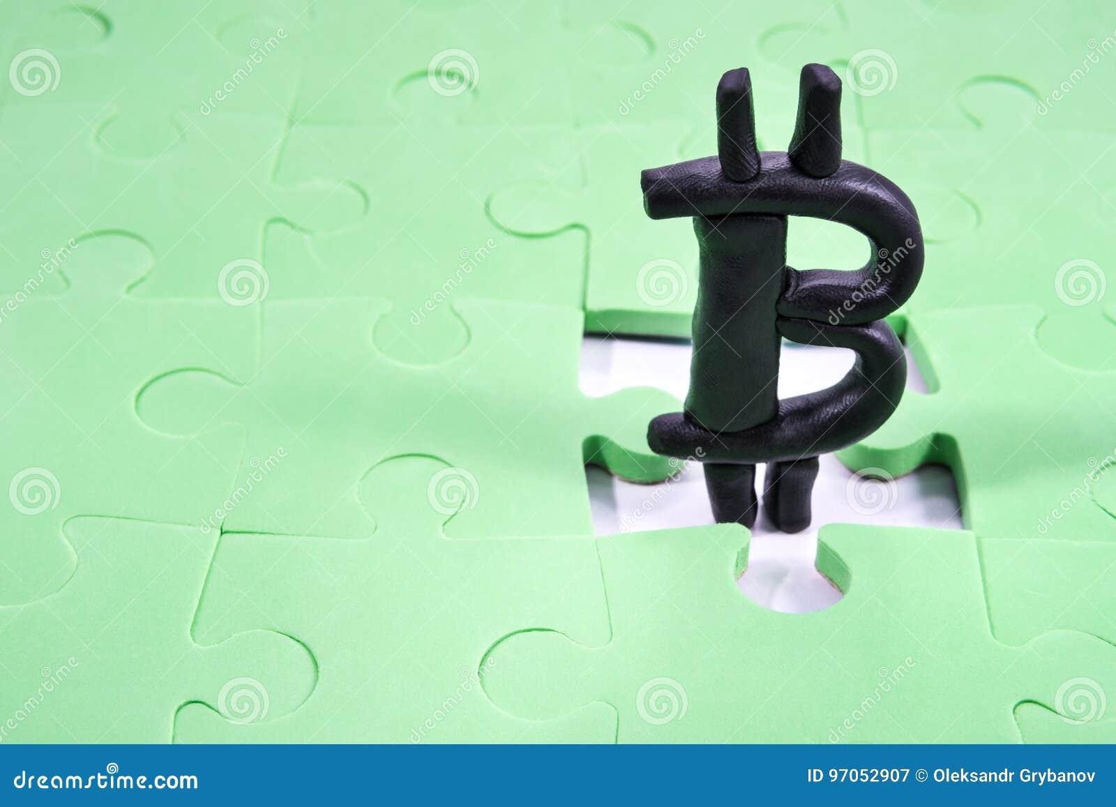 Bitcoin w dziury łamigłówce