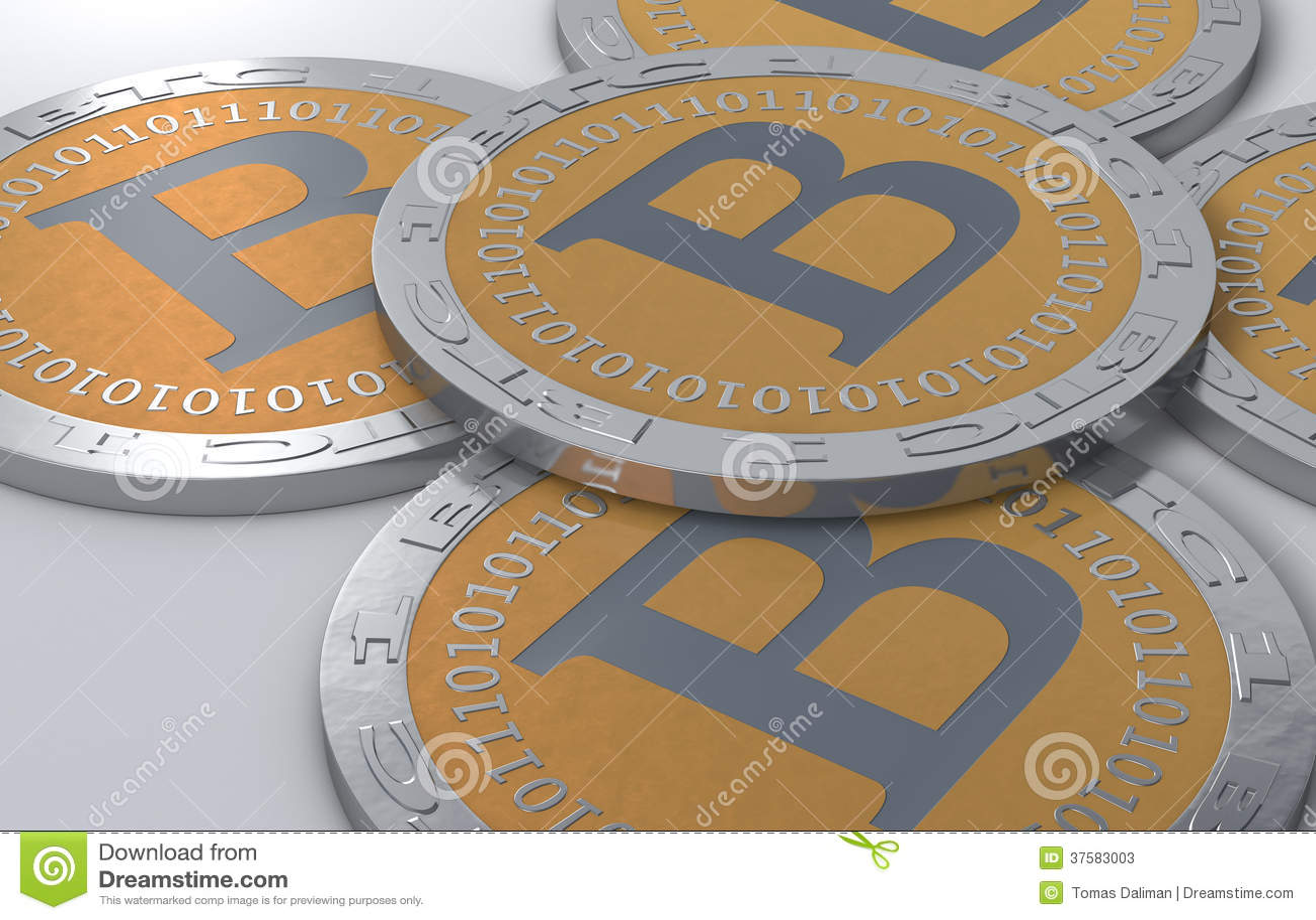 Bitcoinmuntstukken