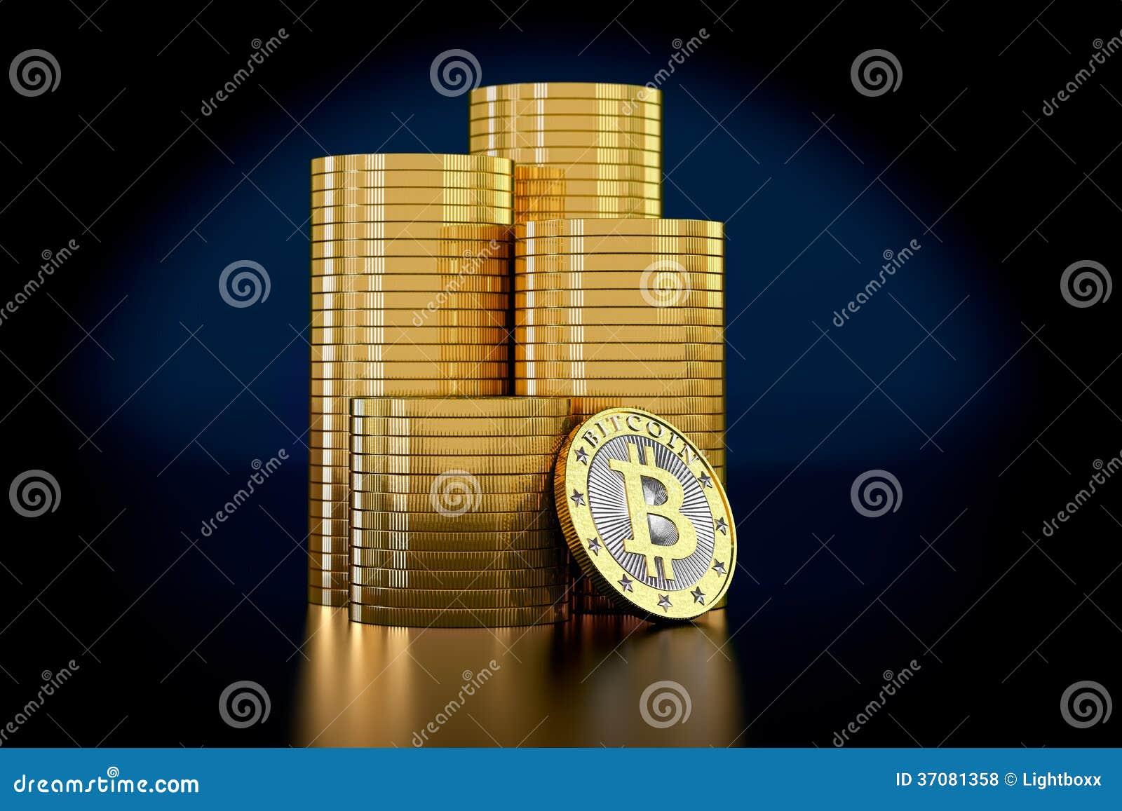 Download Bitcoins ilustracji. Ilustracja złożonej z wymiana, pieniężny - 37081358