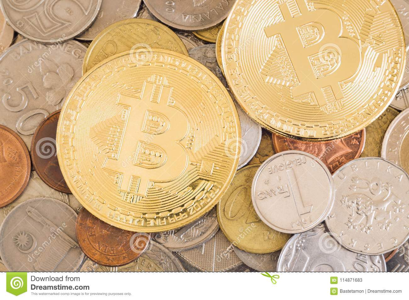 Bitcoins and other coins