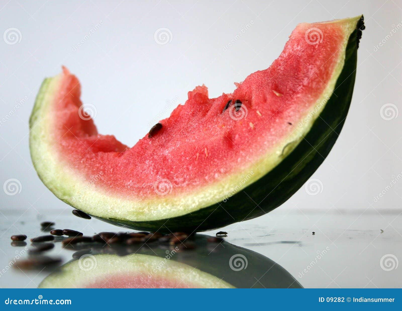 Bited fora da melancia