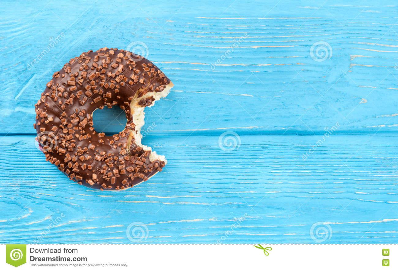 Biten chokladmunk