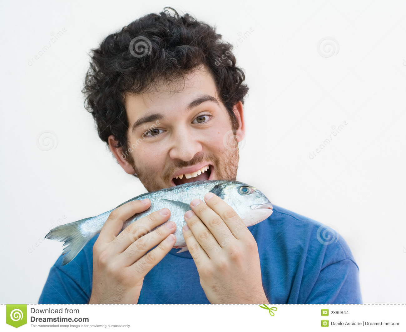 Biting a fish stock images image 2890844 for Where are the fish biting