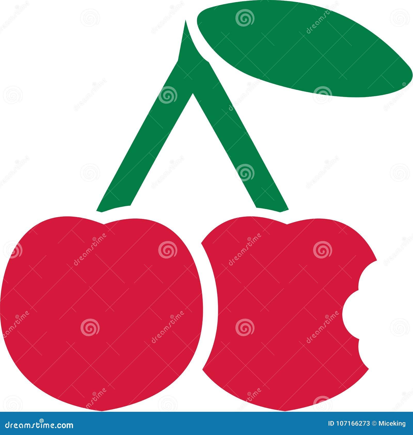 Bitit in i körsbäret
