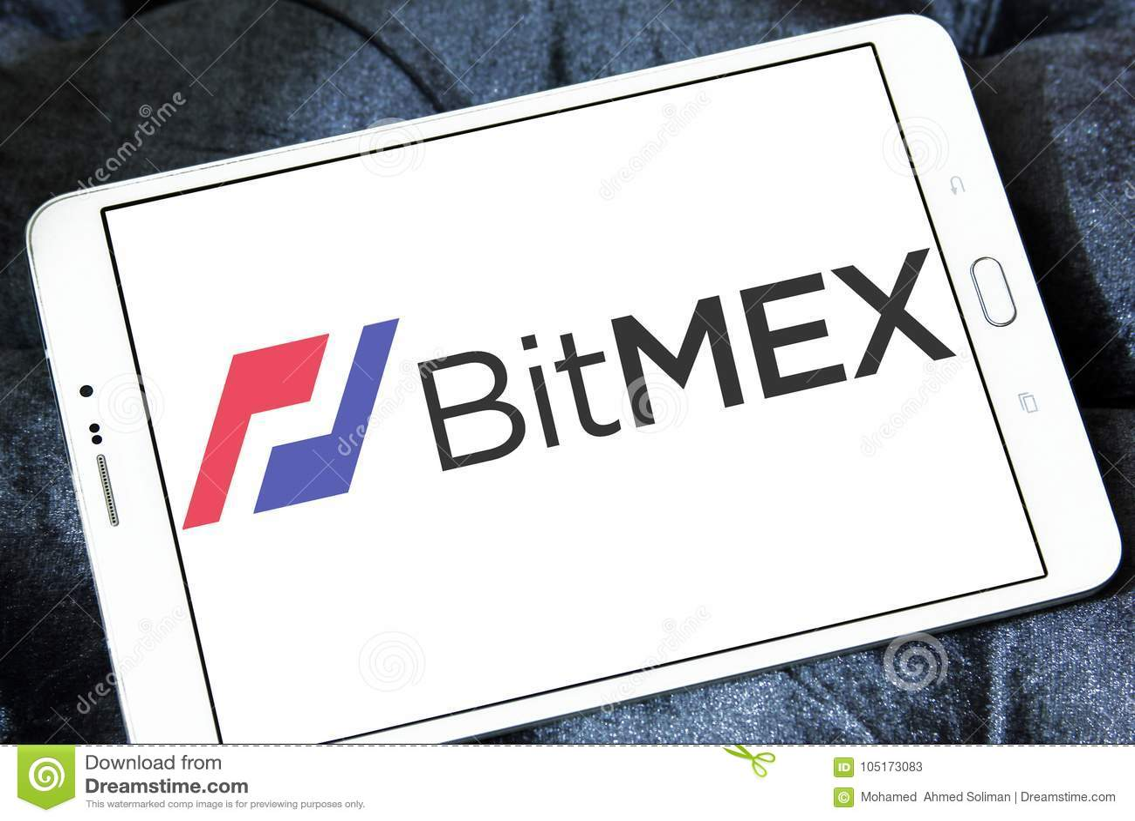 BitMEX Cryptocurrency Exchange Logo Editorial Stock Photo - Image of