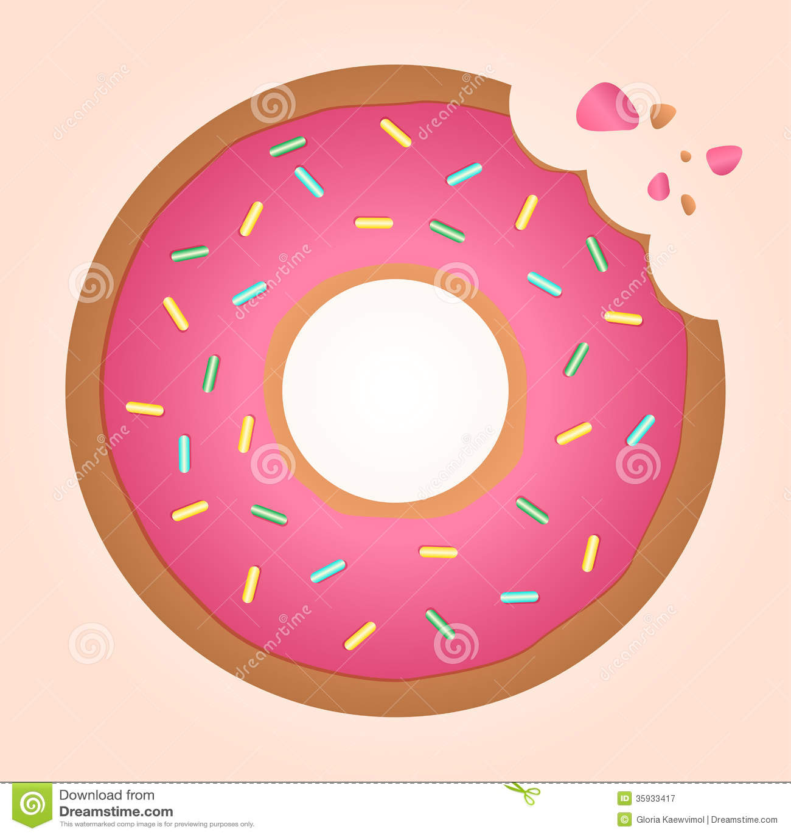 Doughnut Ring doughnut royalty free