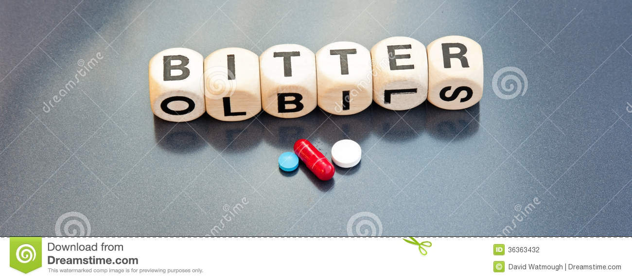 A Bitter Pill Stock Photography - Image: 36363432