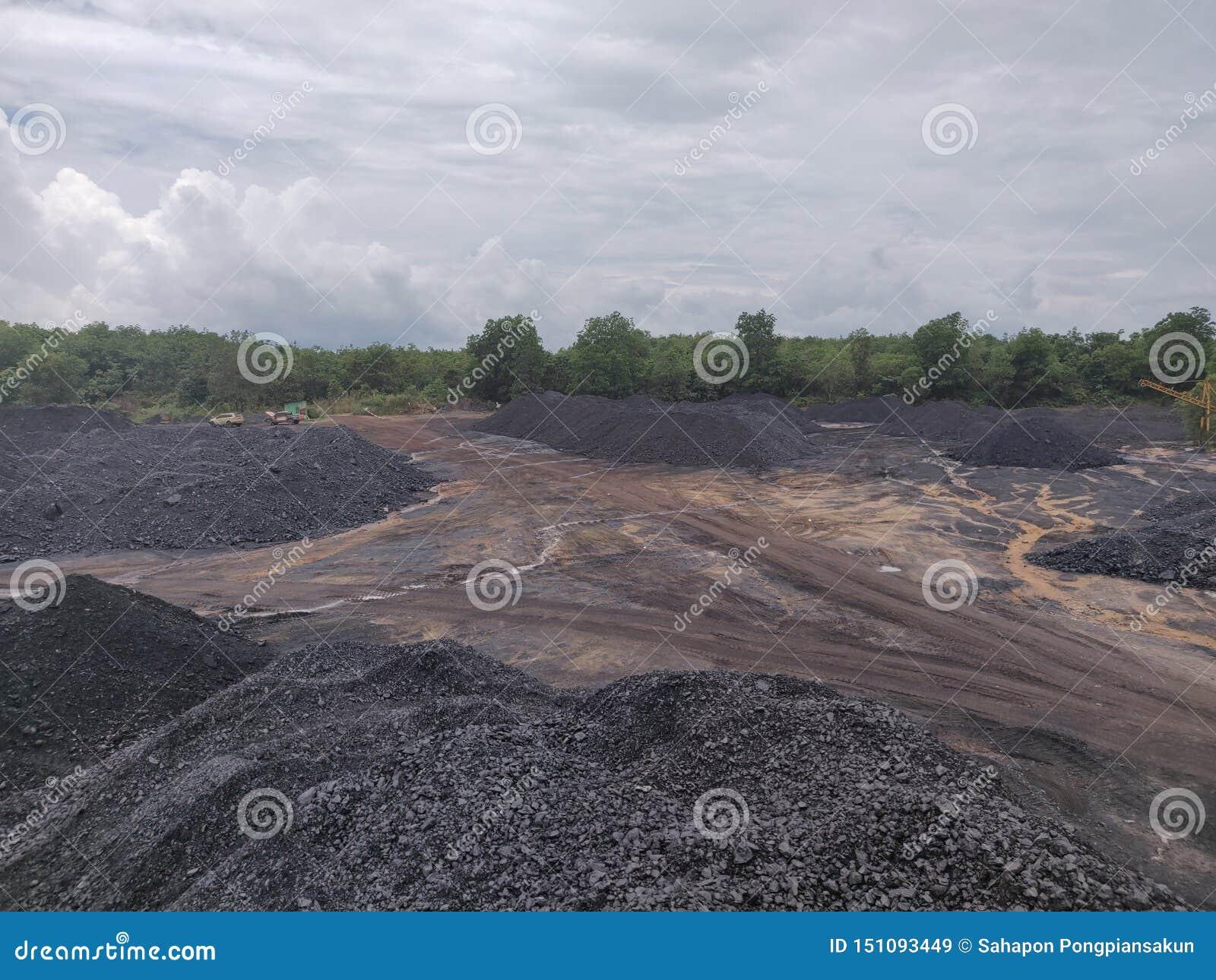 Bituminöst - antracitkol, kol för hög kvalitet