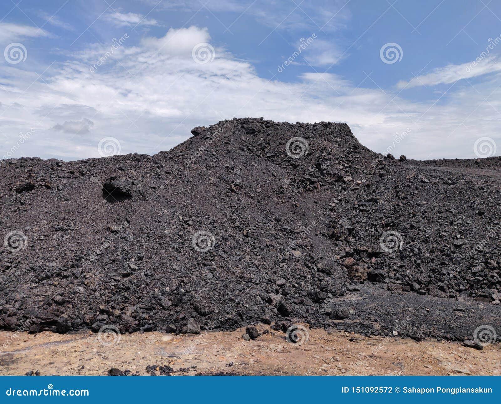 Bituminoso - carbón de antracita, reserva del carbón de alto grado