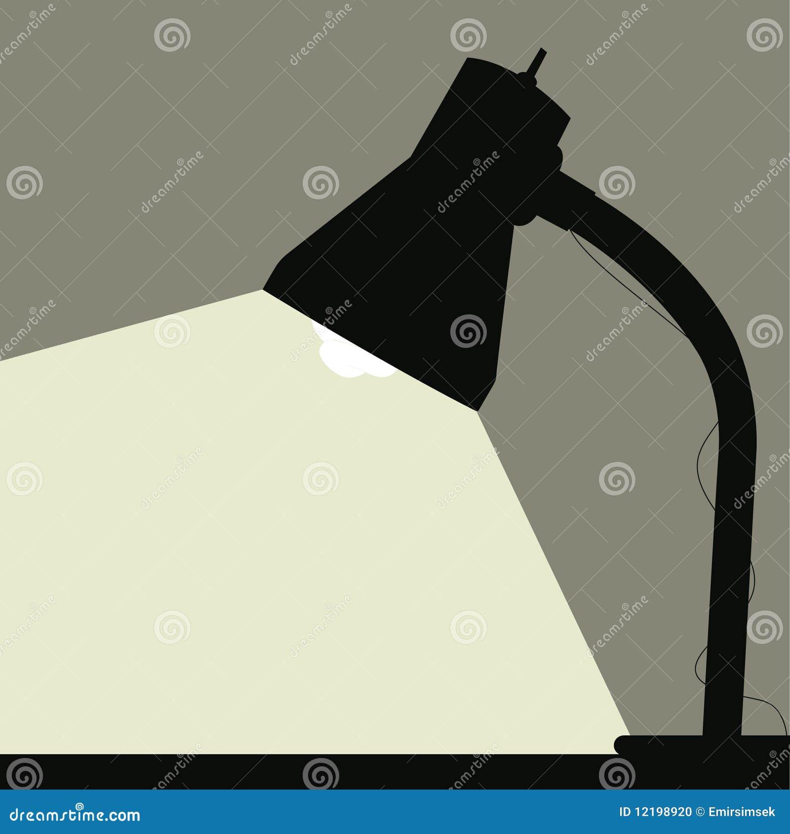 Biurko lampa