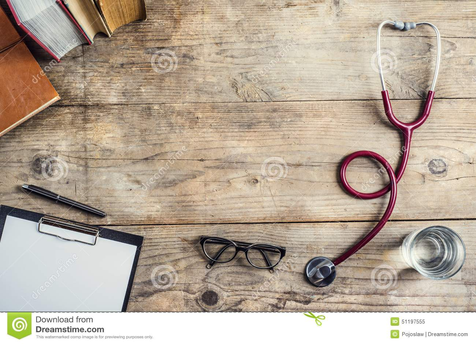 Biurko lekarka