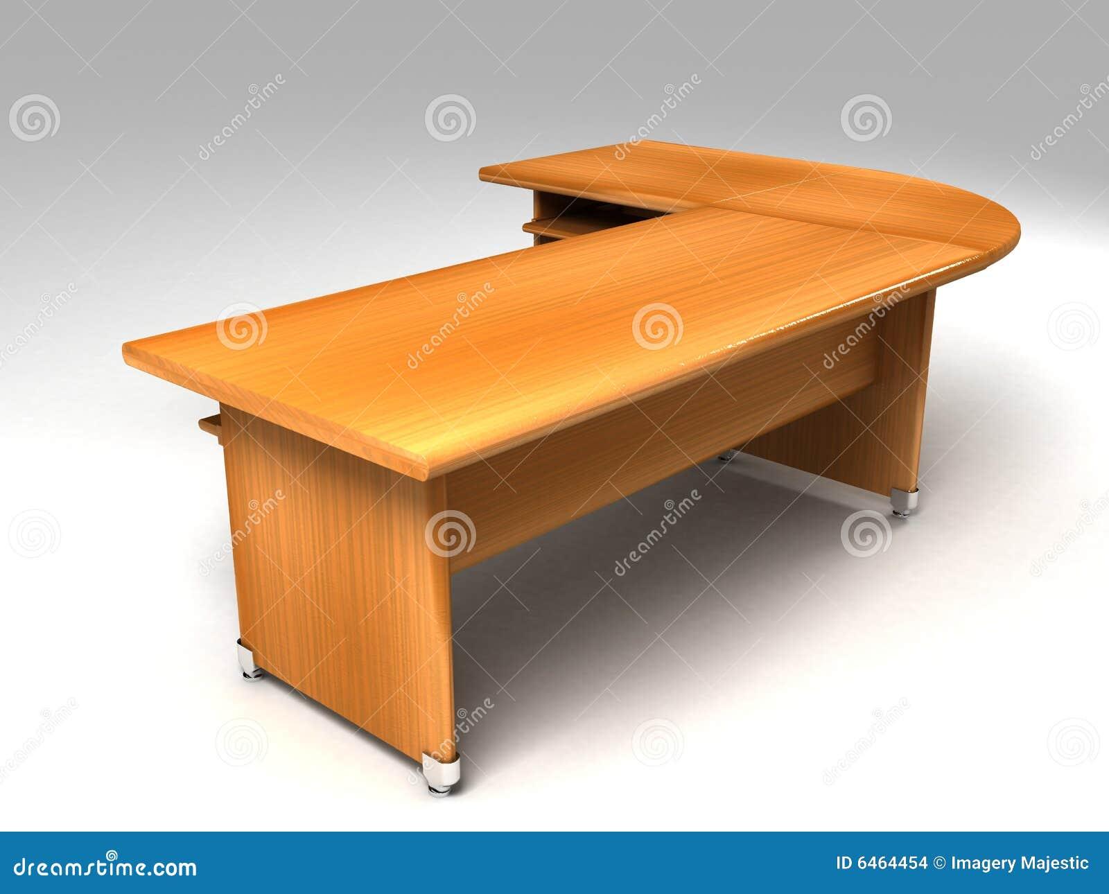 Biuro biurka wymiarowej 3